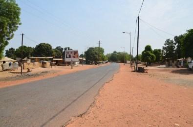 La route principale