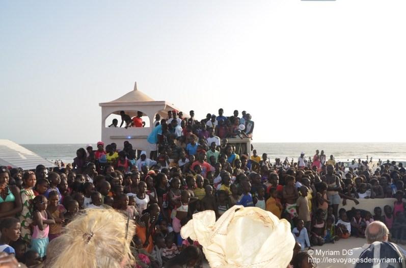 Il y avait du monde ce jour là à la plage!!!