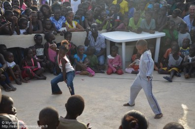La poupette a gagné le tournoi de danse!!