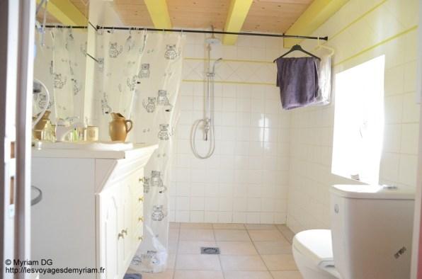 La salle de bain attenante