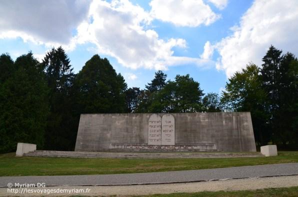 Le monument dédié aux Juifs