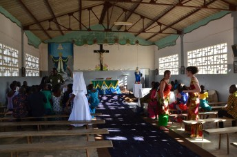 L'église où s'est déroulé le mariage.