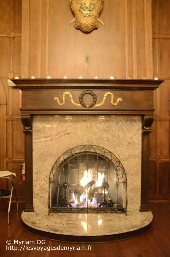 On se demandait avec mon Barbu comment faisaient les serveurs pour remettre du bois dans feux.. Fastoche! c'était du feu au gaz!!