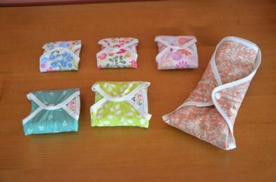 serviettes hygiéniques Hannahpad