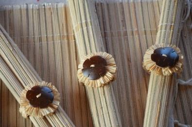 set de table en raphia malgache