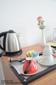 En cas de petite envie de thé ou café, il y avait ce qu'il fallait