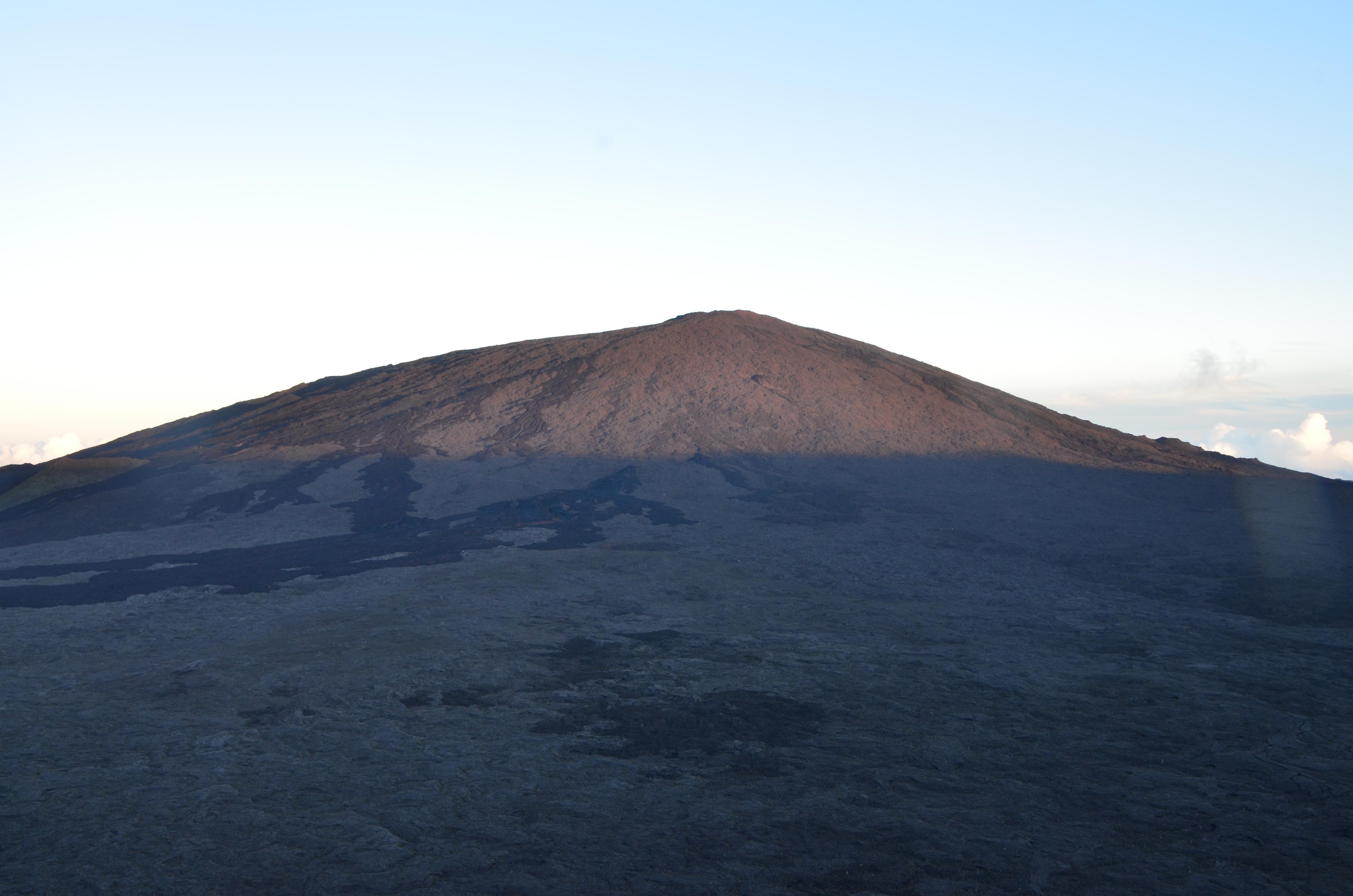 Le Piton de la Fournaise, la Réunion