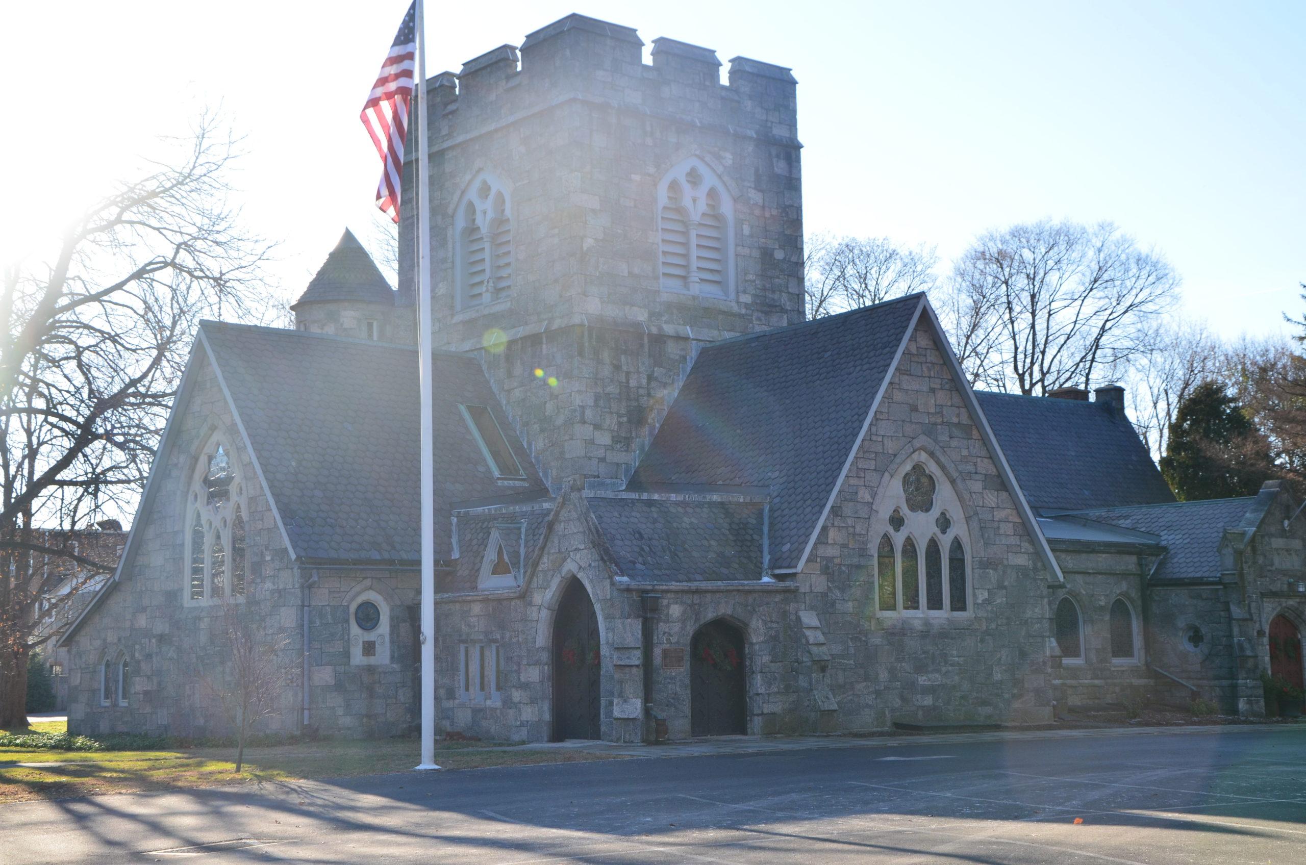 Les églises de Tarrytown, ville du comté de Westchester, dans l'État de New York, aux États-Unis.
