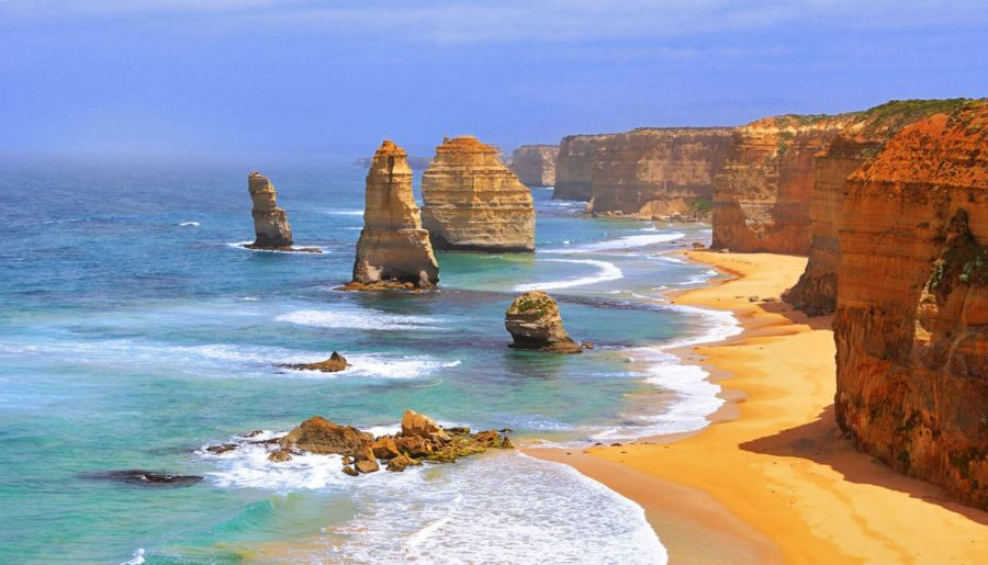 The Twelve Apostles sur la Great Ocean Road - Australie