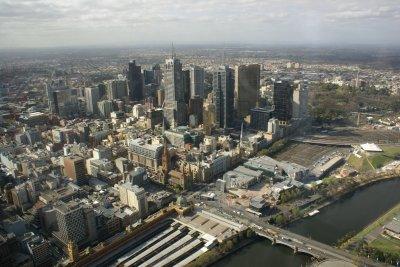 Vue depuis la tour Eureka Skydeck - Melbourne (Australie)