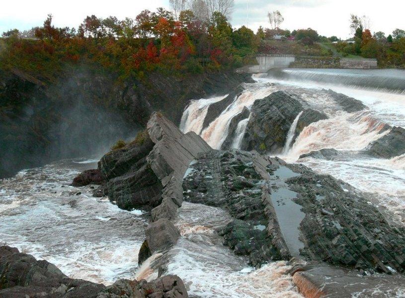 Les chutes de la Chaudière - Québec