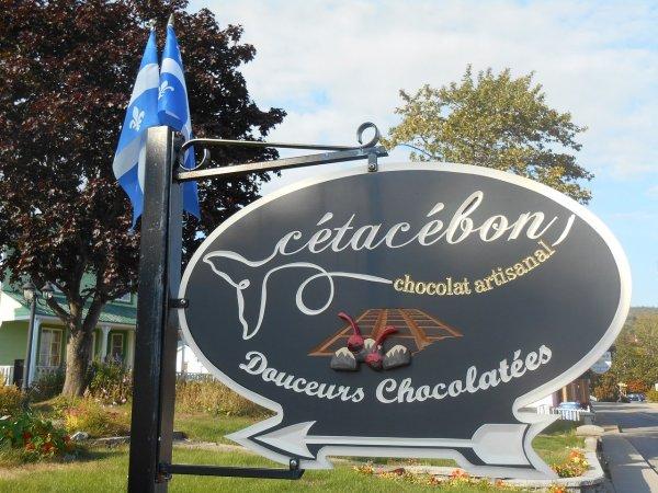 Cétacébon - chocolatier de Tadoussac