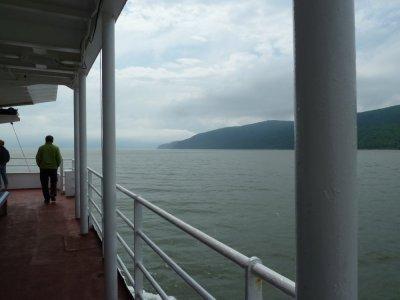 Sur le ferry de l'Isle aux coudres - Québec