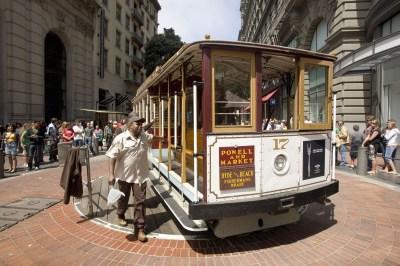 Le cable-car de San Francisco - Californie