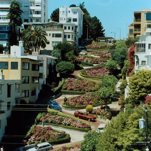 Lombard Street - San Francisco (Californie)