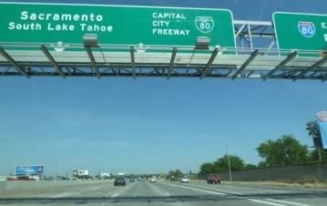Retour sur Sacramento et Folsom depuis San Francisco - Californie