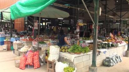 Arrêt dans un marché local - Chiang Mai