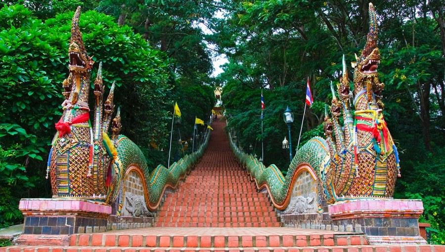 Le temple Doi Suthep - Chiang Mai