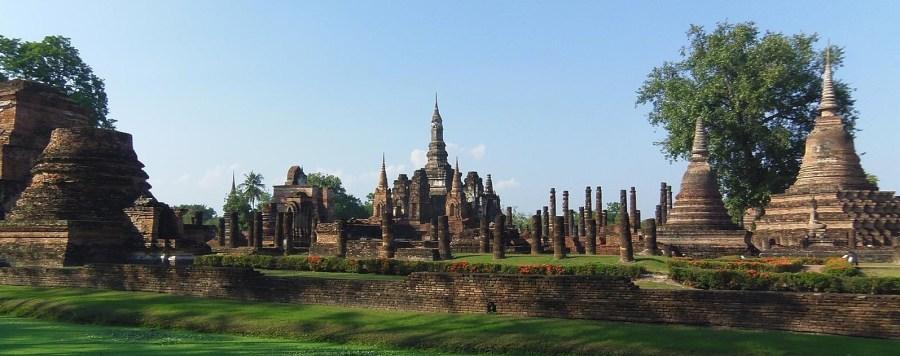 Sukhothaï - la vieille ville et le parc historique