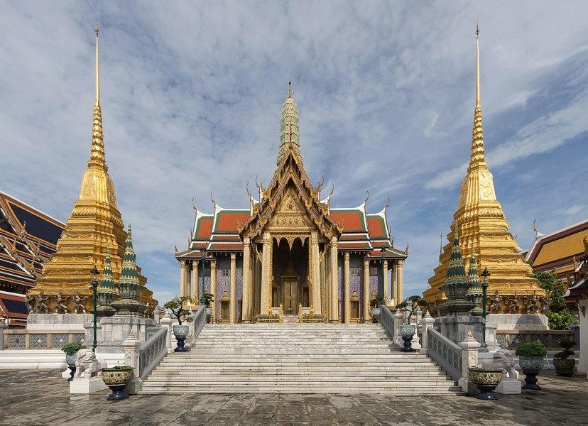 Wat Phra Kaeo - Le temple du Bouddha d'Emeraude (Bangkok)