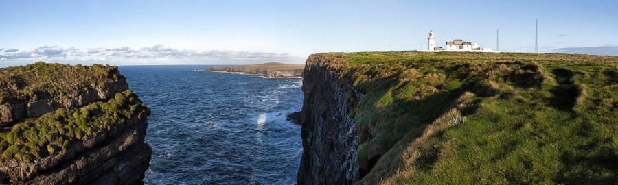 Le phare de la péninsule de Loop Head - Irlande