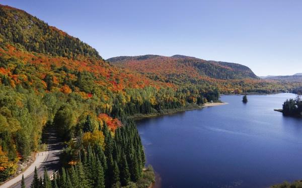 Le Parc National du Mont Tremblant - Laurentides (Québec)