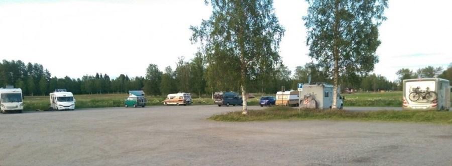 Aire de camping-car de Gammelstad - Suède