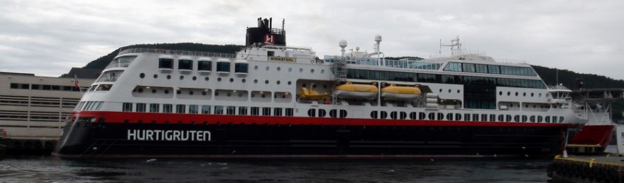 L'express côtier Hurtigruten - Norvège