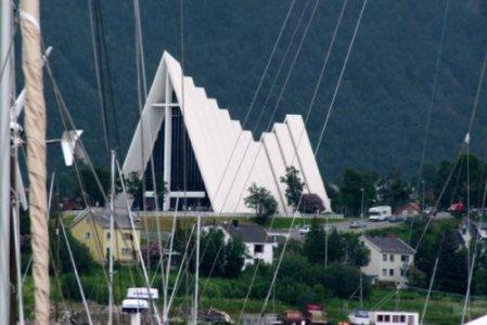 Cathédrale Arctique de Tromso Norvège