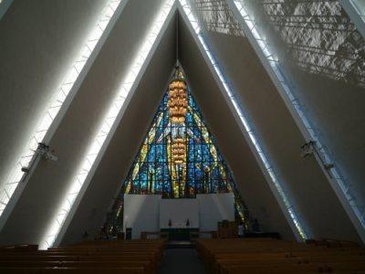 Cathédrale arctique Tromso Norvège