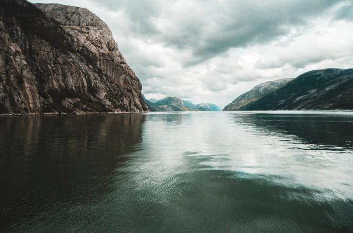 Le Lysefjord - Norvège