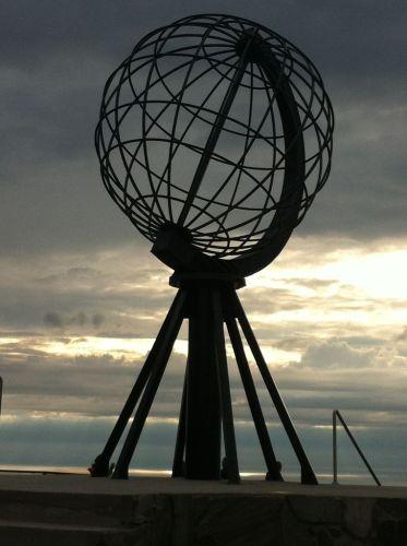 Le globe du Cap Nord - Norvège