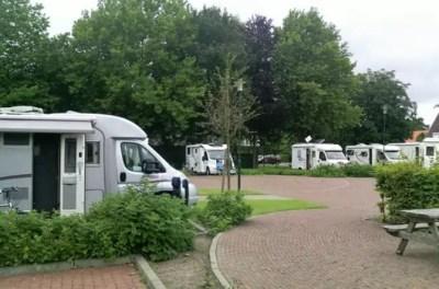 Aire de camping-car de Hesel ( Allemagne)