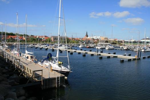 La marina - Ystad (Suède)