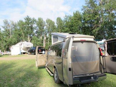 Au camping Red Lodge Koa