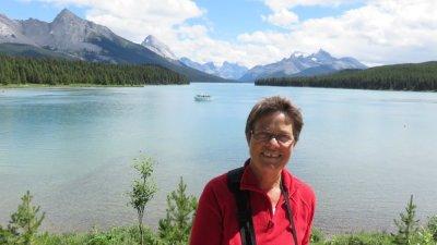 Au bord du lac Maligne - Jasper NP - Rocheuses canadiennes