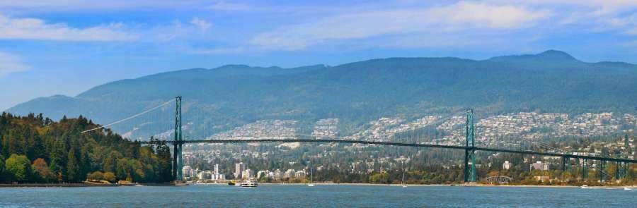 Lions Gate Bridge - Vancouver (Canada)