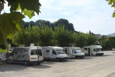 Aire de camping-car de St Jean Pied de Port