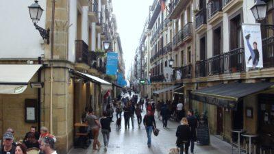 St Sébastien - Les rues piétonnes