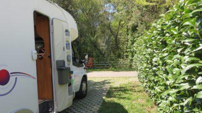 Aire de camping-car du parc de Gaia (Porto)