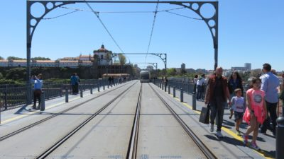 Sur le pont Luis 1er