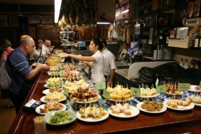 bar à tapas - St Sébastien