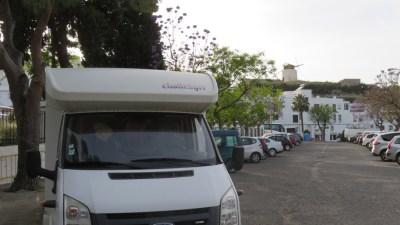 Aire de camping-car à Vejer de la Frontera