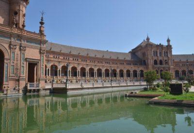 La place d'Espagne - Séville
