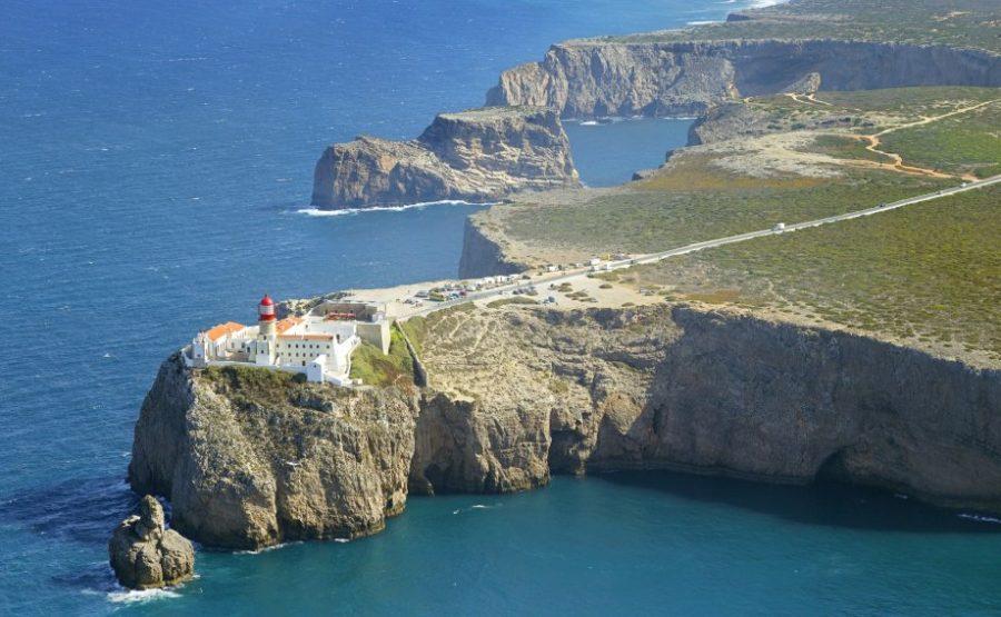 Le cap St Vincent et son phare