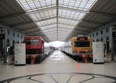 la gare de Santa Apolonia