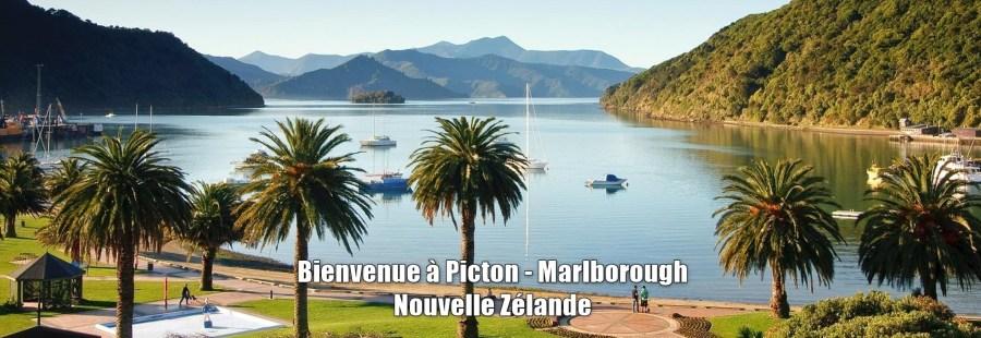 Bienvenue à Picton - Marlborough (NZ)
