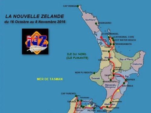 Circuit Nouvelle Zélande 2016 - île du Nord