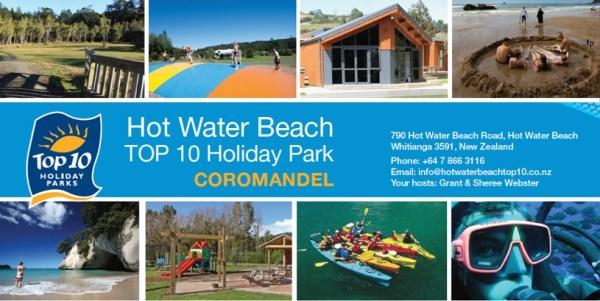 Hot Water Beach Top10 Holiday Park - NZ