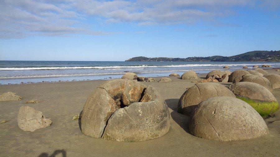 Moeraki Boulders (Nouvelle Zélande